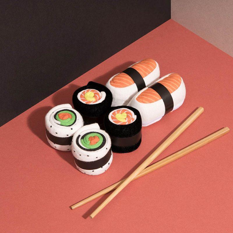 Ces chaussettes conviendront parfaitement à un amateur de sushi ! Voilà de quoi plaire à tous les fans du Japon !