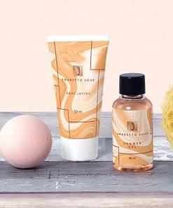 Offrez 3 Produits de bain au parfum Amaretto Sour pour un proche qui adore ce cocktail !