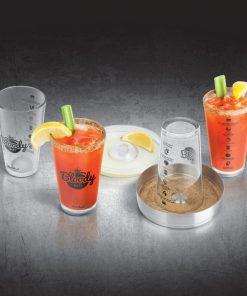 Préparez de délicieux cocktailsLe célèbre cocktail à la tomateRecettes écrites sur le verre