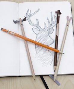 Des crayons qui égayeront la journée de vos joyeux bambins qui prendront un véritable plaisir à écrire.