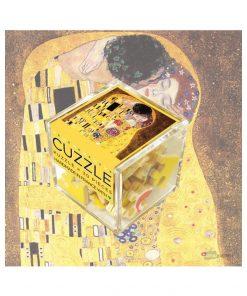 Petit boite de puzzleFabriqué en FranceReproduction du tableau Le BaiserFait à la main