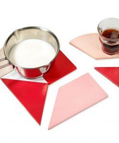 Redécouvrez le Tangram avec un dessous de plat à reconstruire selon vos envies