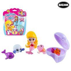 Ensemble animaux pour le bain Bizak 3507580 (6 pcs)