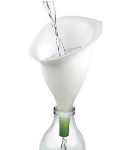 Faites entrer la nature dans votre cuisineEn silicone soupleEn forme de fleur d'Arôme blanche
