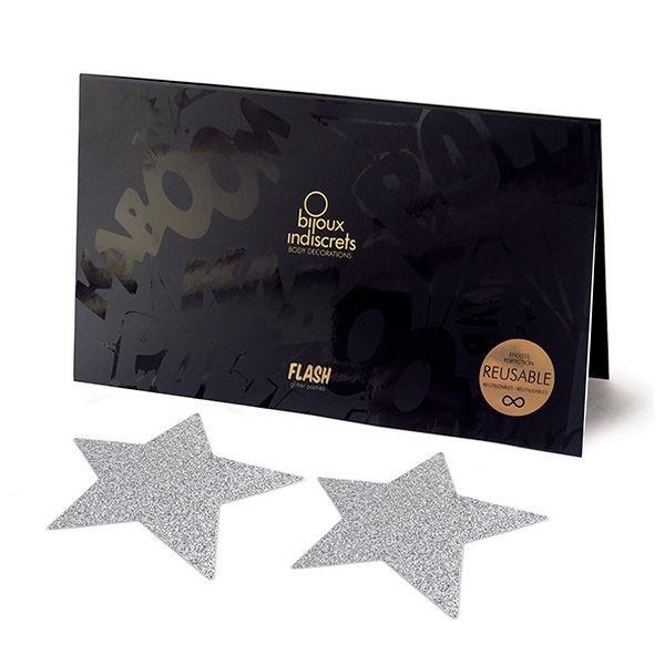 Flash Star argenté Bijoux Indiscrets 138