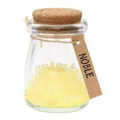 Faites pousser votre fleur de cristal jaune pastelFaites passer un message sincère à votre prochePour un cadeau original et affectueux