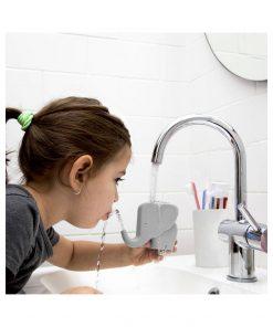 Buvez à tous les robinets !Parfait pour les petitsUn éléphant ça trompe énormément !Rangez vos brosses à dents !