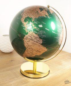 Globe vintage et mystiqueDécorez votre bureauAmbiance cosy et lumineuse