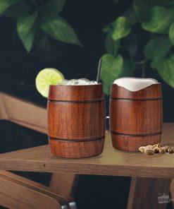 Buvez à deux de manière originale dans des tonneaux qui vous accompagneront partout !
