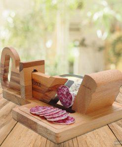 Coupez votre saucisson Pour des tranches parfaitesfabrication artisanaleUne pièce de collection à part entière