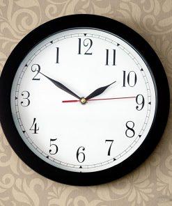 Une horloge à l'envers
