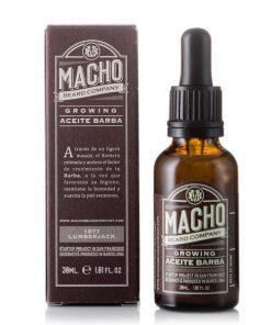 Huile pour barbe Growing Beard Macho (30 ml)