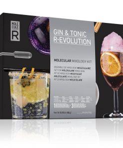 Un coffret pour réaliser un Gin Tonic façon nouvelle cuisine