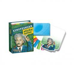 Notez toutes vos idées de génie sur ce livret de blocs-notes Einstein. Avec ces deux blocs-notes et ces cinq marque-pages de couleurs différentes