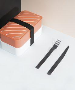 Emportez votre repas avec vous2 compartimentsBoite hermétiquePasse au micro-ondes