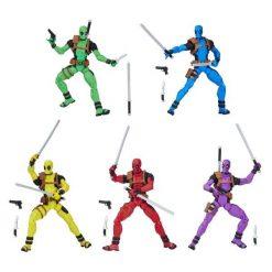 Marvel Legends Deadpool (Pack 5 Figurines) Hasbro