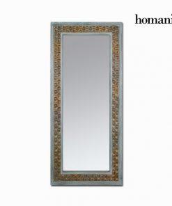 Miroir Bois d'épicéa Rectangulaire Marron (84 x 6 x 180 cm) by Homania