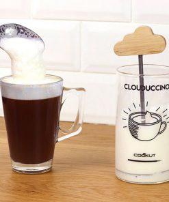 Préparez de la mousse de lait avec un ustensile écologique et respectueux de l'environnement ! Voilà de quoi personnaliser votre cappuccino