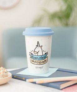 Buvez votre café avec stylePratique et mignonGarde au chaud vos boissons