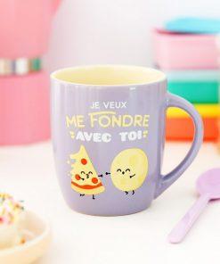 Cette tasse amoureuse et fun sera idéale pour offrir à son chéri et pour déclarer votre amour infini !