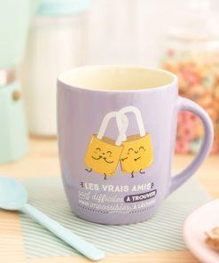 Cette tasse joyeuse et symbolique sera idéale pour offrir à une personne fabuleuse !