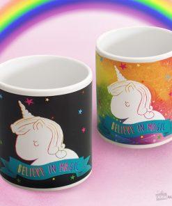 Mug magiqueSe colore à la chaleurBuvez votre boisson chaude avec style