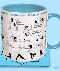 Un mug conçu pour les adeptes de yoga