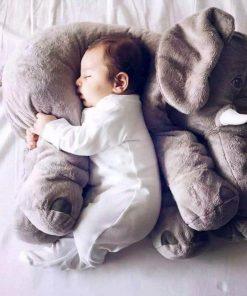 Oreiller en forme d'éléphantDoux et confortableIdéal pour un enfantDécorez votre intérieur
