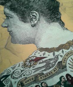 Etonnez vos amis avec ce papier cadeau Tattoo femme double face