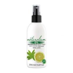 Parfum Corporel Herbal Lemon Naturalium (200 ml)
