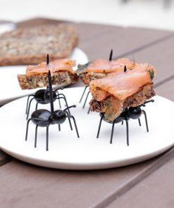 Ces 20 pics apéritif fourmi seront parfaits pour servir vos amuse-bouches avec originalité !