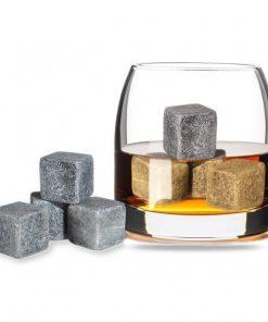 Rafraîchissez vos boissons grâce à ces pierres à whisky.
