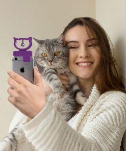 Ce gadget de smartphone/iPhone sera idéal pour faire de belles photos avec votre chat !