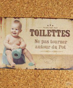 Signalez l'entrée de vos toilettes