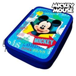 Pochette crayons Mickey Mouse 32480 Bleu