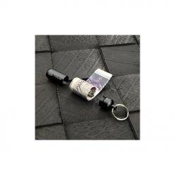 Un porte-clés compartiment secret CashStash très discret et léger