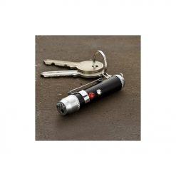Un porte-clés lampe laser très pratique