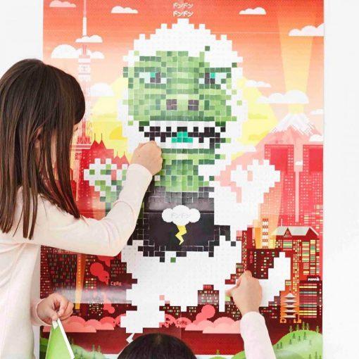 Créez votre oeuvre pixeliséA partir de 10 ansPour les cinéphiles