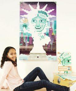 Créez votre oeuvre pixeliséA partir de 10 ansActivité originale et amusante