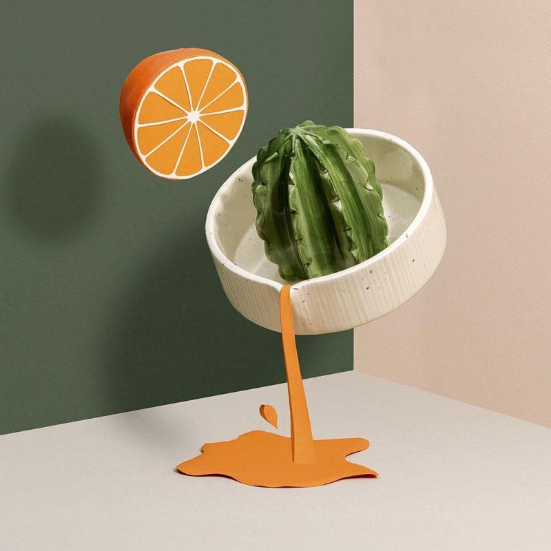 Ajoutez un peu de piquant à vos réveils avec ce presse agrumes cactus !Faîtes le plein d'énergie avec un jus d'agrumes fait maison !