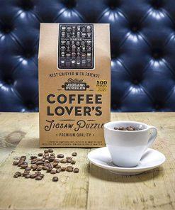Assemblez 500 pièces pour découvrir 36 cafés et 36 recettes !