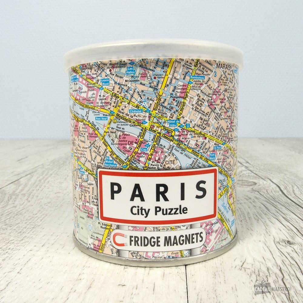 Idee Cadeau A Paris.Puzzle Magnet Paris 100 Pieces