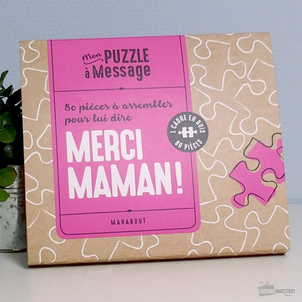 Puzzle A Construire Merci Maman