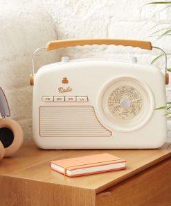 Radio vintage et chic2 couleurs au choixEcoutez vos radios préférées