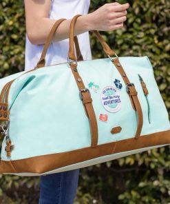 Ce sac de voyage aux nombreuses poches intérieures et extérieures sera parfait pour partir en week-end découvrir de nouveaux horizons !