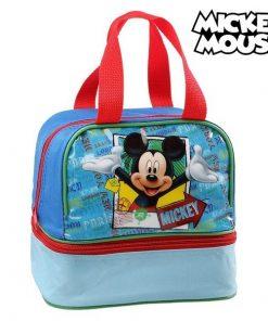 Sac pour snack Mickey Mouse 32220 Bleu