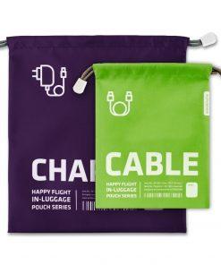 Vous n'avez plus d'excuses de ne pas retrouver vos différents chargeurs et/ou câbles grâce à ces rangements spéciaux.