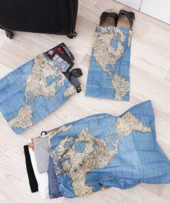 Ces sacs très pratiques vous suivront de partout. Utile pour transporter ses affaires lors de voyage.