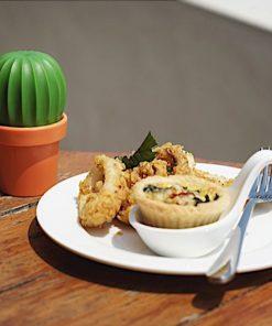 Relevez vos plats avec cette salière cactus mais attention aux épines !