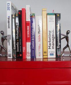Pour ranger vos livres partoutUne touche design et originale